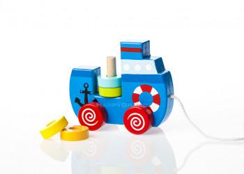 Ziehspielzeug aus Holz Werbegeschenk