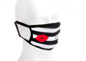 Firmengeschenk nachhaltige Mundschutz Maske bedrucken mit eigenem Logo