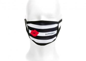 Giveaway wiederverwendbarer Mundschutz Mund Nasen Maske mit Werbemotiv