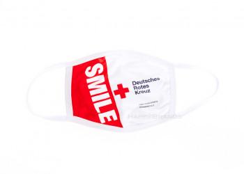 Merchandising Behelfsmaske mit Logo Hersteller Importeur