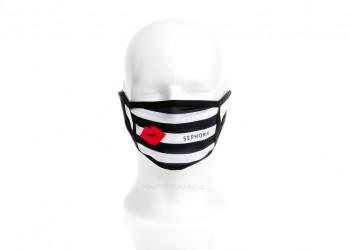 Werbeartikel waschbarer Mund Nasen Schutz Alltagsmaske mit Firmen Branding
