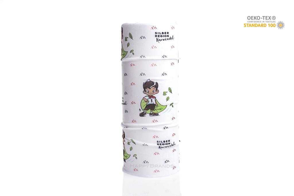 Kinder-Loopschal-Merchandising